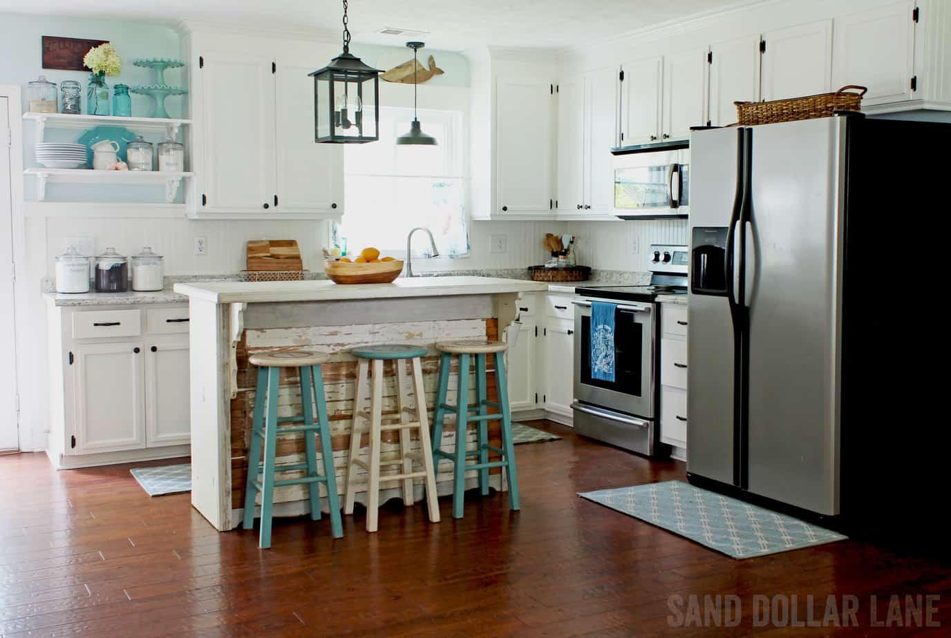Coastal Farmhouse Style Kitchen Reveal