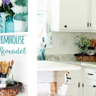 Farmhouse Kitchen Remodel – Coastal Style