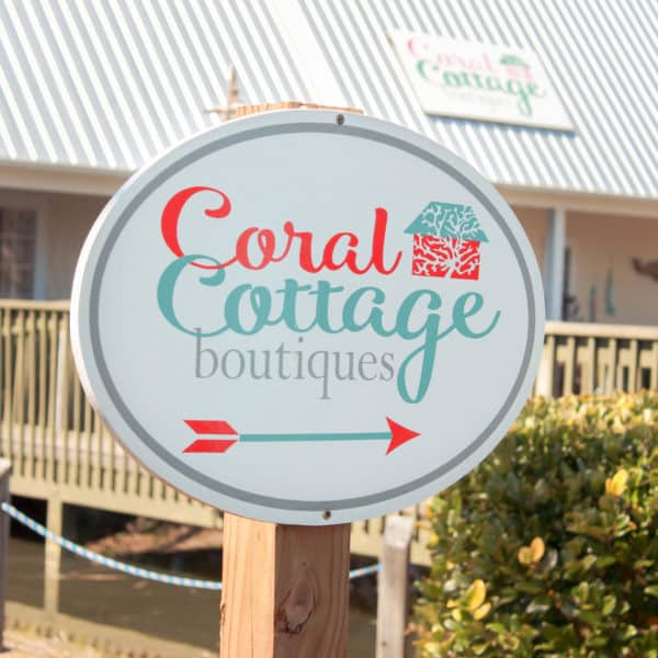 Topsail Island Shopping 20+ amazing local artists at Coral Cottage Boutiques