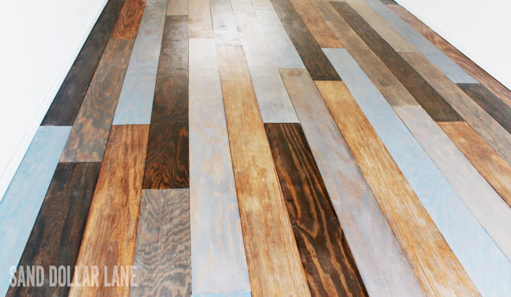 Multi color afforadable wood flooring