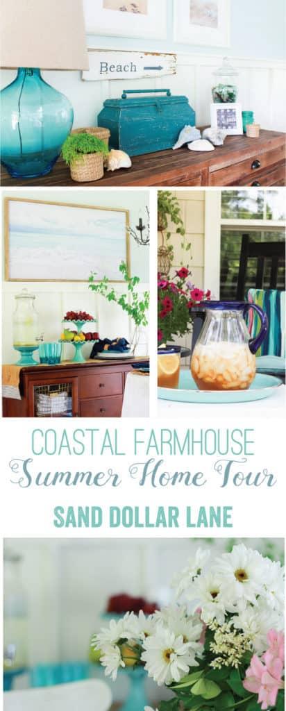 Coastal Farmhouse Summer Tour