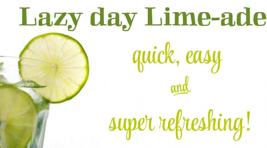 lazy day limeade