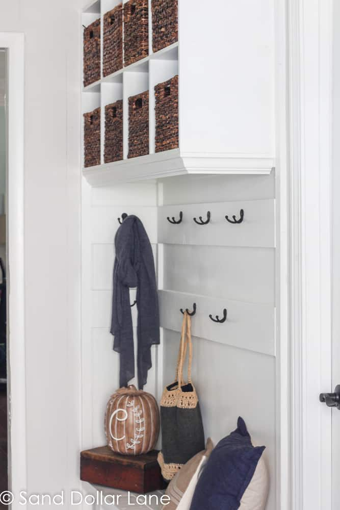 Fall Family Mudroom