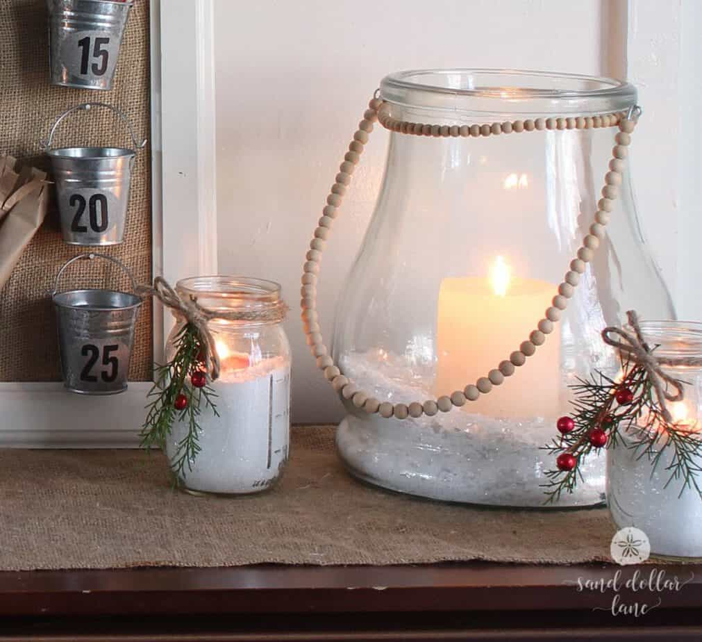 simple and pretty Christmas decor