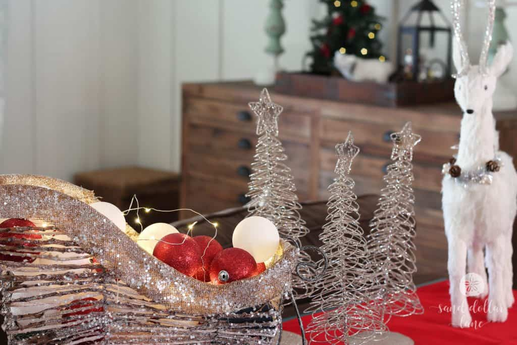 Rustic Glam Christmas Home Tour by Sand Dollar Lane