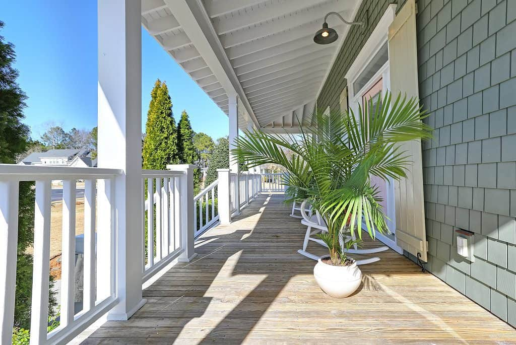 Southern Style Wrap Around Porch