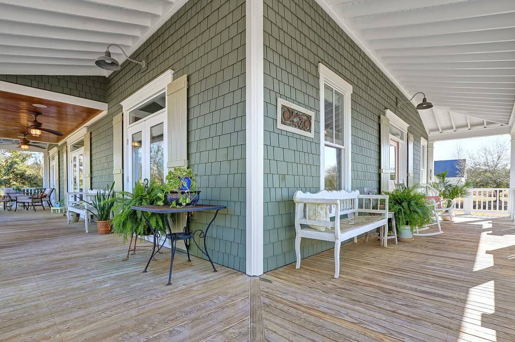 Southern Style Front Porch