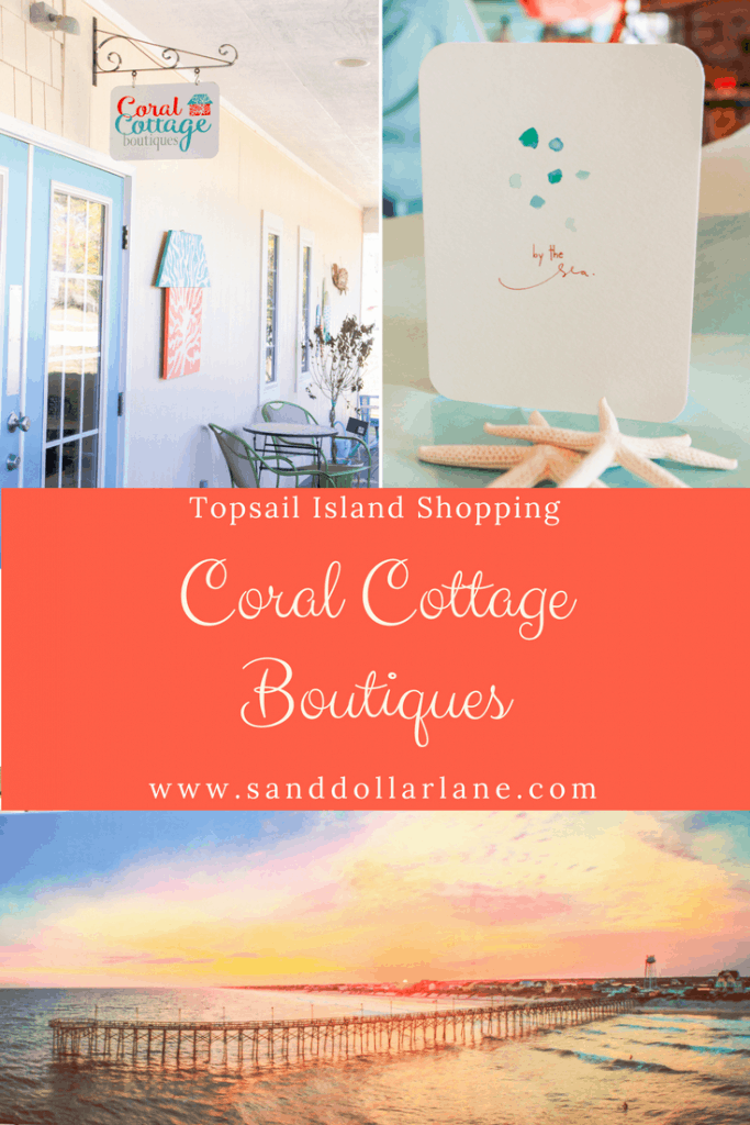 Topsail Island Shopping Coral Cottage