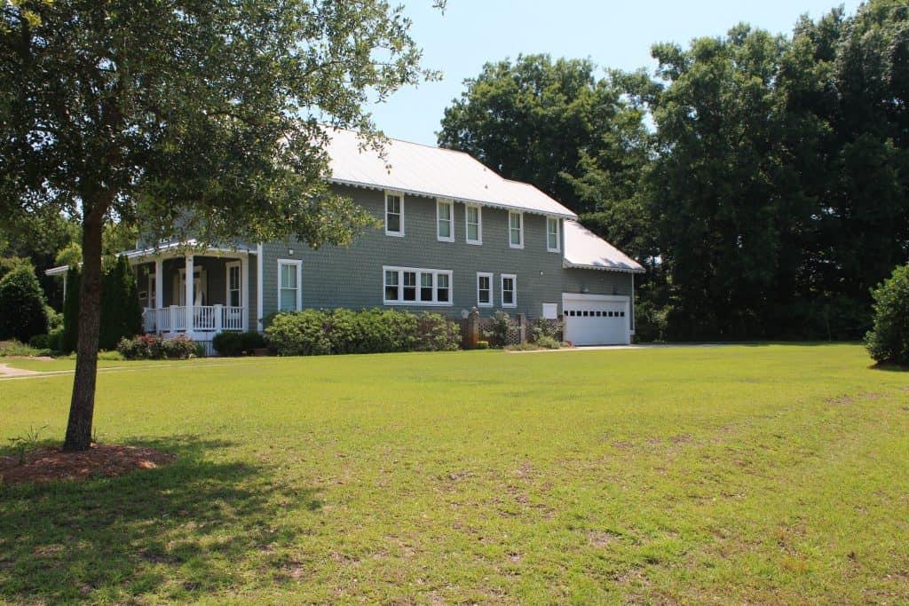 Southern Style Coastal Home large yard