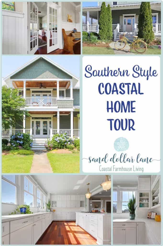 coastal home tour