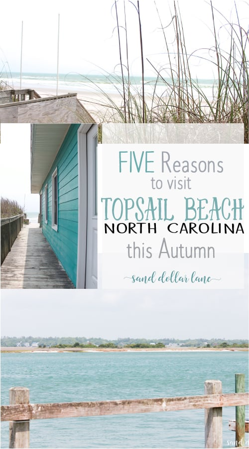 Five reasons to visit Topsail Beach this Autumn