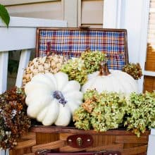 How to Decorate a Small Porch for Fall