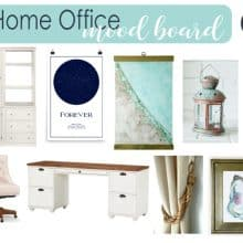 Coastal Home Office Mood Board