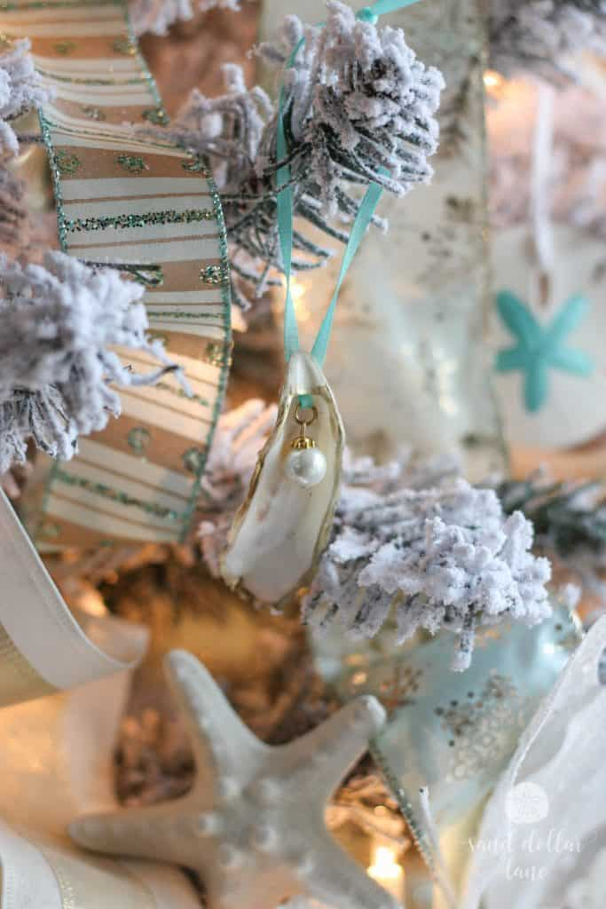 oyster shell ornament