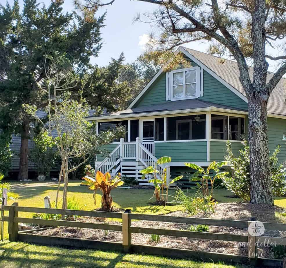 Winter Vacation in Ocracoke house gawking #obx #coastalexploring #visitnc