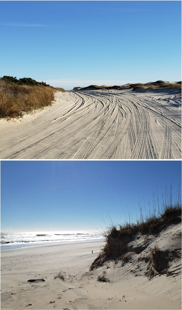 winter vacation in Ocracoke- secluded beaches #beach #ocracoke #coastalexploring #obx