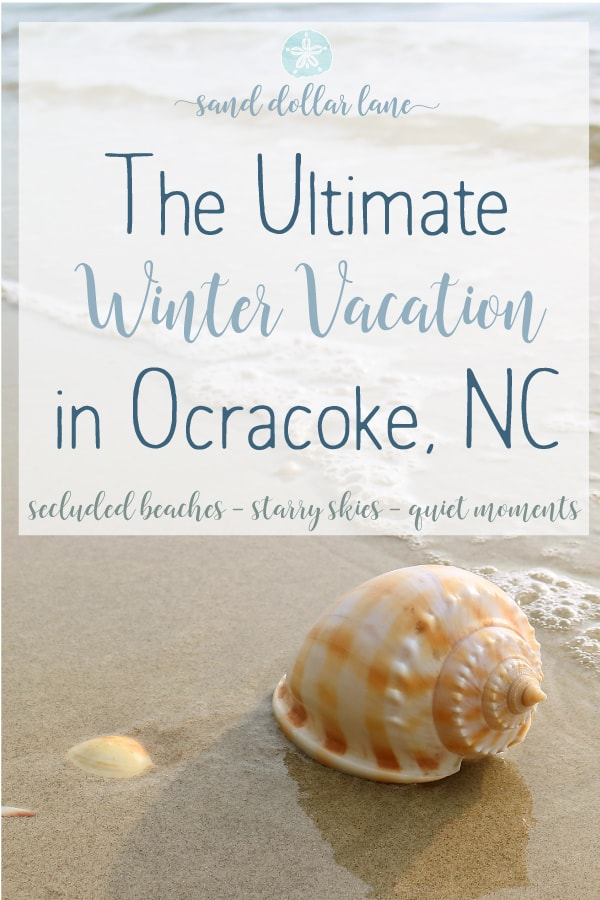 Winter vacation in Ocracoke NC #ocracoke #coastalexploring #obxvacation #obx