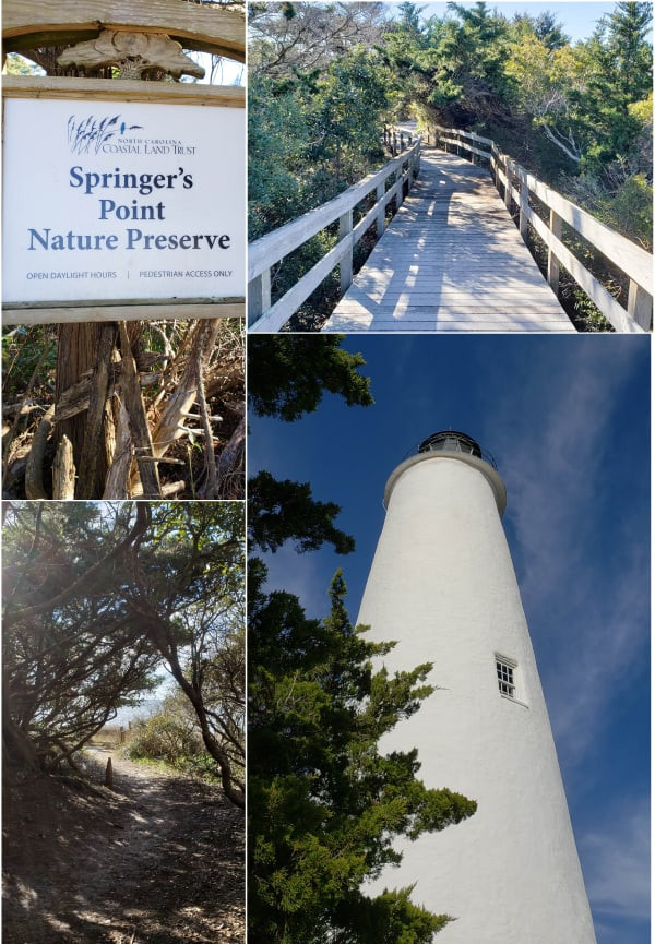 winter vacation in Ocracoke #lighthouse #obx #wintervacation #coastalexploring #wintervacation #ocracoke