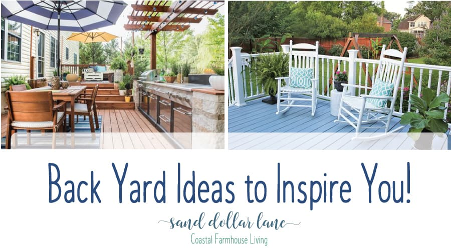 We're in the planning stage (my favorite part!) of our back porch remodel and want to share with you some of the inspirational back porch ideas we have found.