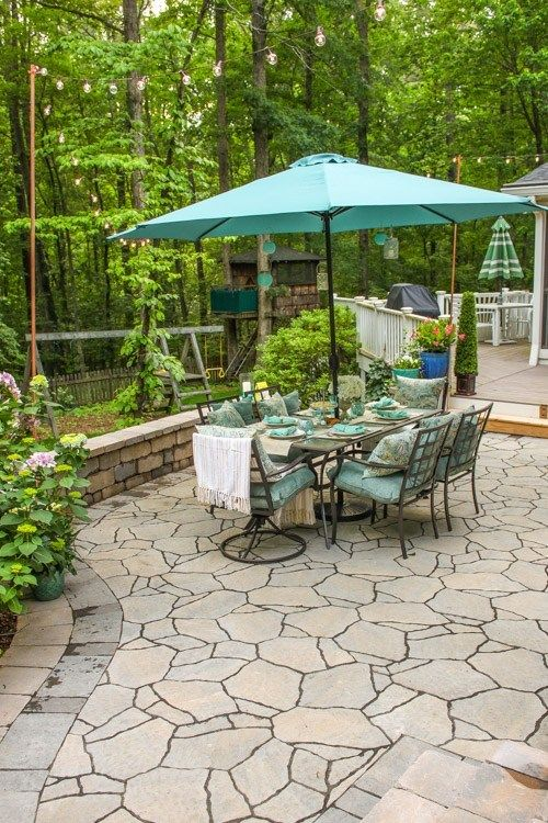 We're in the planning stage (my favorite part!) of our back porch remodel and want to share with you some of the inspirational back porch ideas we have found. Pretty Handy Girl has the prettiest outdoor tablescape! #outdoordining #diy #outdoorspace #backyard