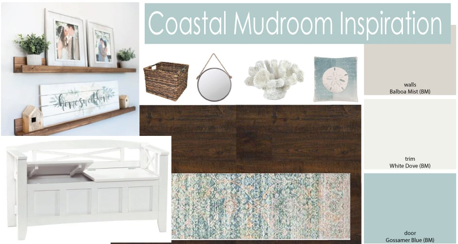 Coastal Mudroom Inspiration #