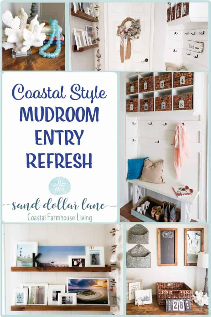 coastal mudroom