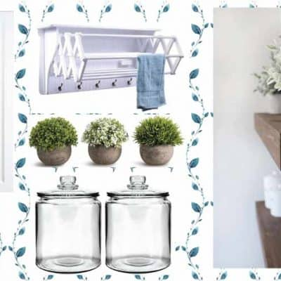 Coastal Laundry Area Mood Board