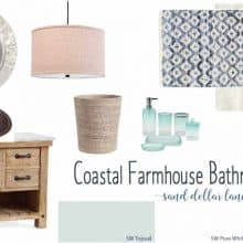 Coastal Farmhouse Bathroom Remodel Week 1