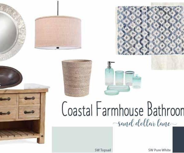 Coastal Farmhouse Bathroom Remodel Week 1