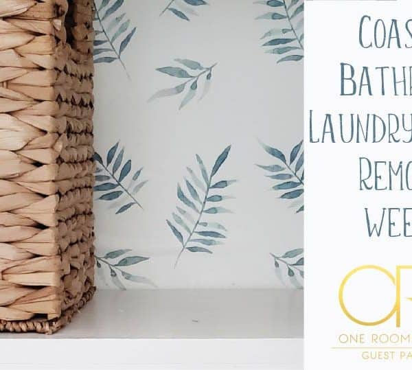 Laundry Closet Remodel
