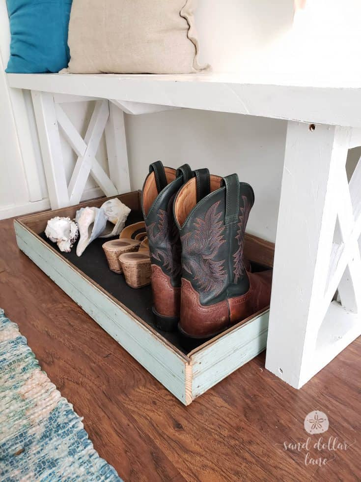 DIY Boot Tray