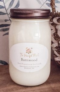 barnwood Candle from Peaceful Porch