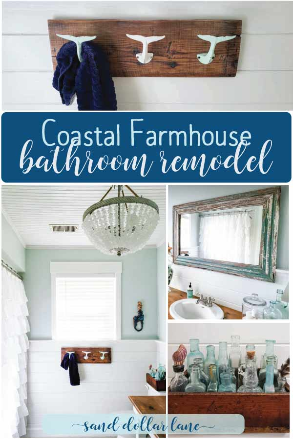 coastal bathroom remodel pin