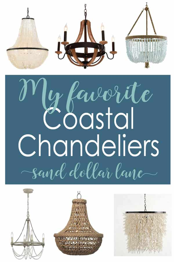 coastal chandelier options