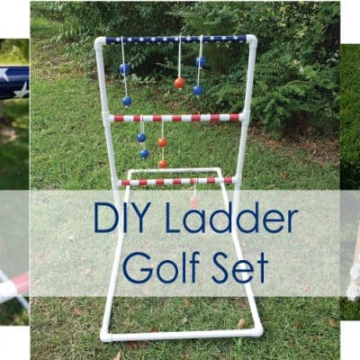 Ladder Golf DIY – How to make your own lawn game