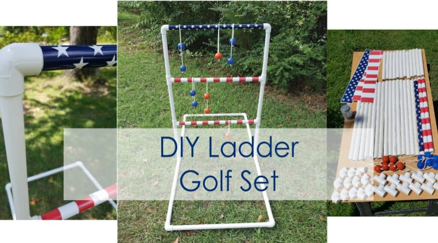 diy ladder ball set
