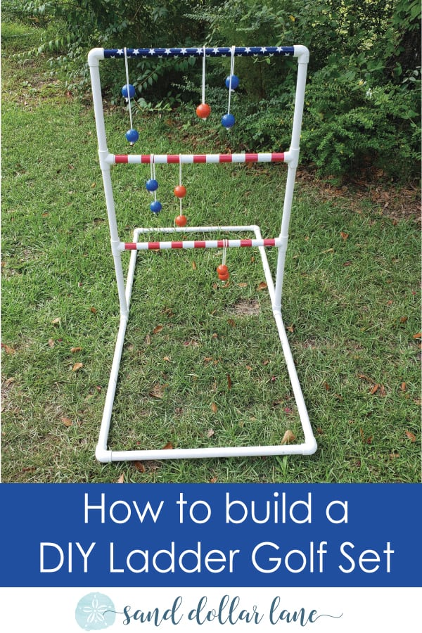 how to build a ladder golf set
