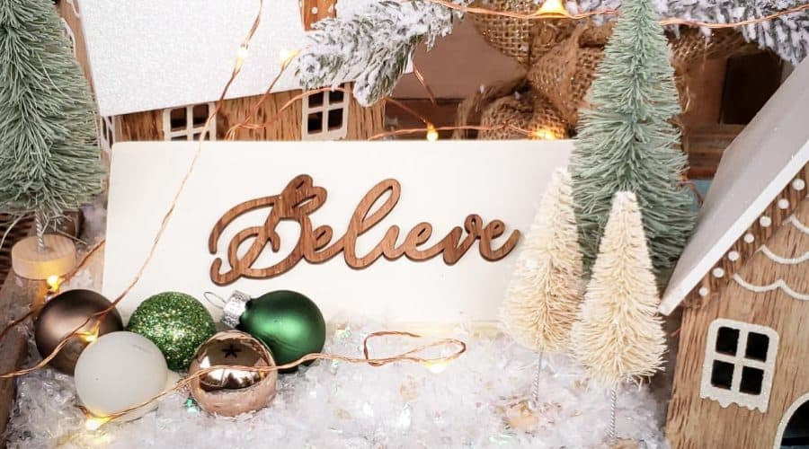 DIY Christmas Sign – an easy and fun holiday project