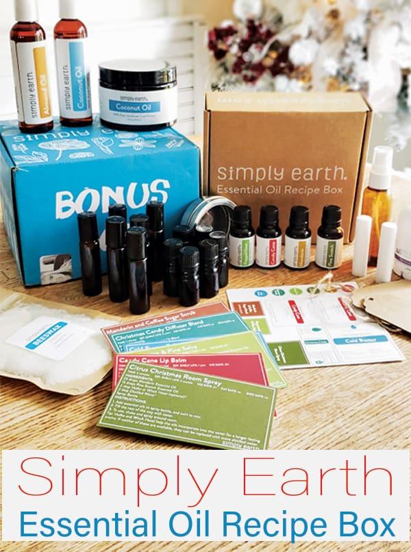 essential oil recipe box
