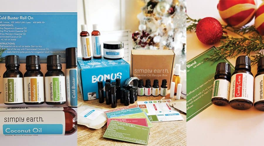 Clean Living- Simply Earth Essential Oil Subscription Box