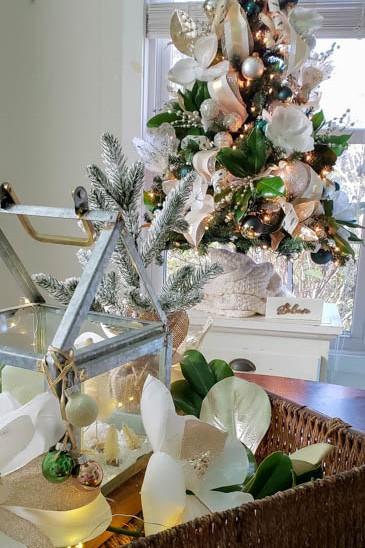 magnolia christmas decor