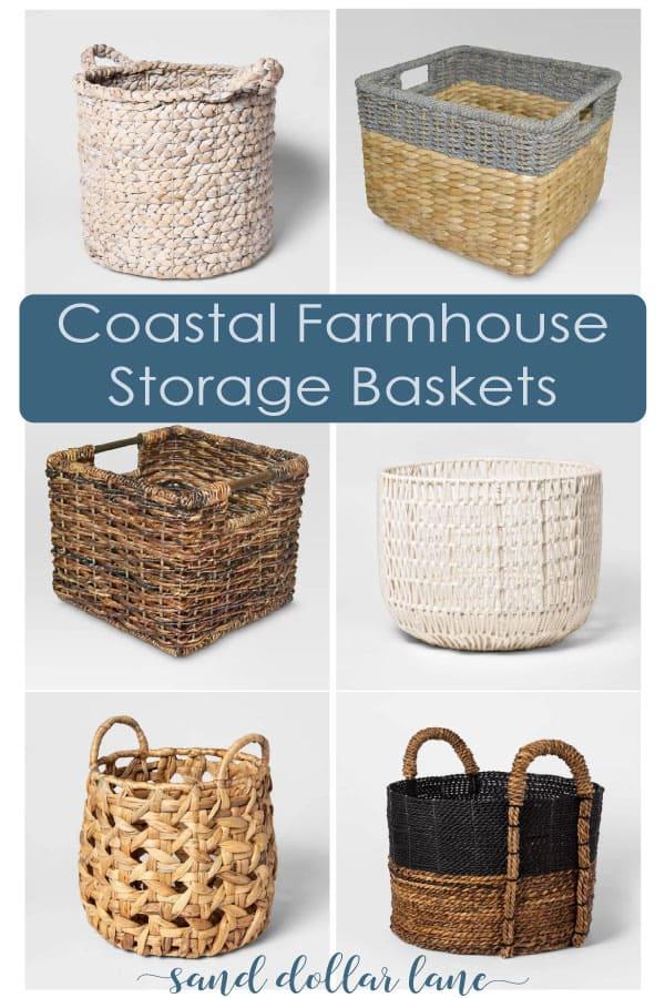 coastal baskets