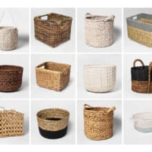 Storage Baskets to Organize Your Home