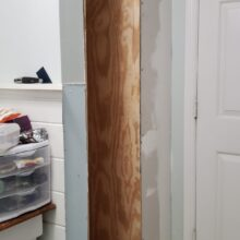 Bathroom Closest Remodel Week 4