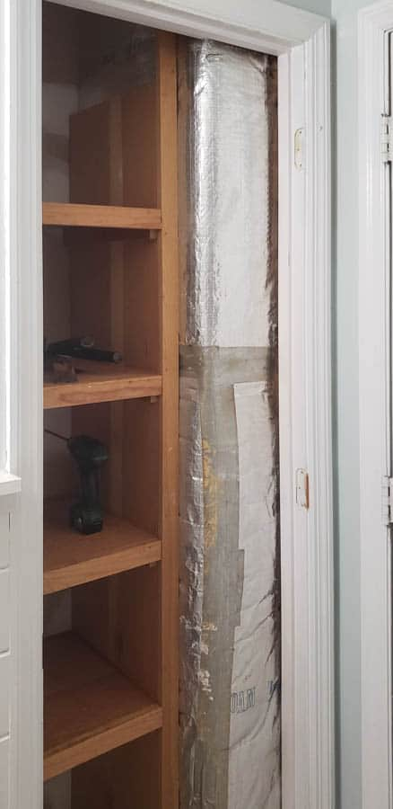 closet door removed