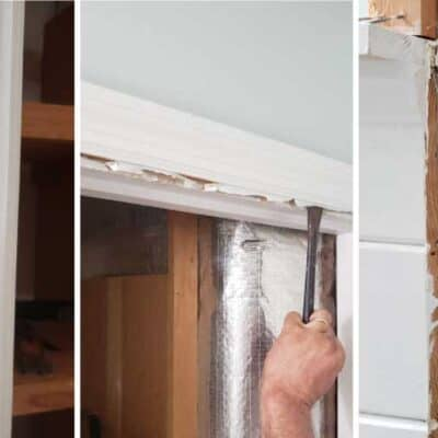 How to Remove a Closet Door Frame