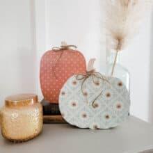 Easy Wooden Pumpkin Craft