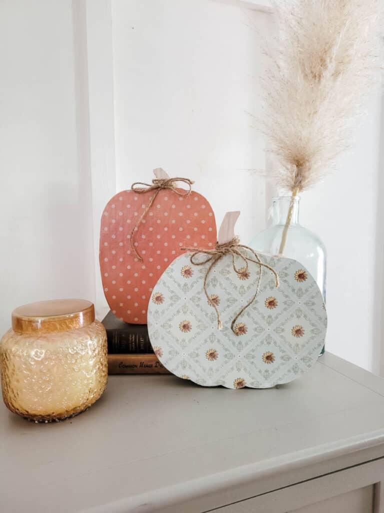 sunflower pumpkin craft