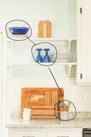 cobalt blue kitchen accesssories
