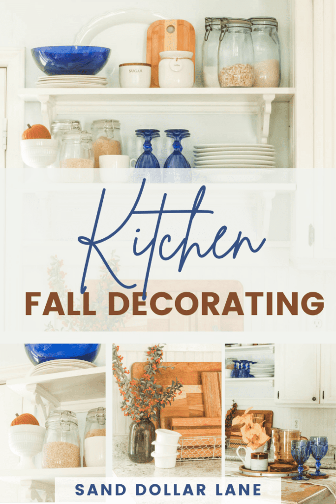 kitchen fall decorating